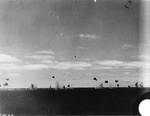 Five B5N Type 97 torpedo bombers approached Yorktown through anti-aircraft fire during the afternoon of 4 Jun 1942