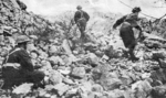Polish troops fighting near Cassino, Italy, 18 May 1944