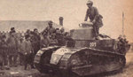 Japanese FT-17 tank in northeastern China, circa Sep-Oct 1931