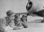 Ki-27 aircraft and personnel, Mongolia Area, China, 1939