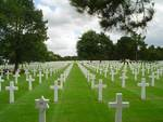 American military cemetery at Normandy, summer 2003