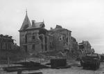 Courseulles-sur-Mer in ruins, France, Jun 1944