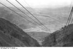 Cable car at Gran Sasso, Italy, 12 Sep 1943, photo 2 of 4