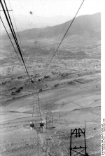 Cable car at Gran Sasso, Italy, 12 Sep 1943, photo 4 of 4