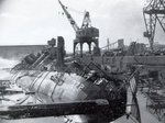 Remains of destroyers Cassin and Downes, 10 Dec 1941