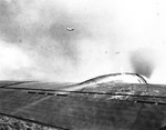 Two Japanese Navy Type 99 Carrier Bombers flew near First Lieutenant Karl T. Barthelmess
