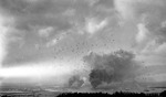 The skies over Pearl Harbor during the Japanese attack, 7 Dec 1941