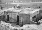 A Soviet bunker destroyed by Slovakian troops, Poland, late Sep 1939