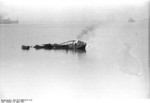 Wreckage of a motor launch, Saint-Nazaire, France, 28 Mar 1942, photo 1 of 3