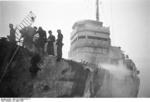 German personnel on HMS Campbeltown at Saint-Nazaire, France, 28 Mar 1942, photo 2 of 9