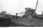 German personnel on HMS Campbeltown at Saint-Nazaire, France, 28 Mar 1942, photo 6 of 9