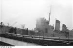 German personnel on HMS Campbeltown at Saint-Nazaire, France, 28 Mar 1942, photo 7 of 9