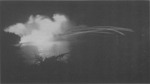 American night-time naval gunfire against Japanese positions at New Georgia, Solomon Islands, 12 Jul 1943