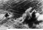 Smoke rising from various districts of Stalingrad, Russia, Oct 1942, photo 2 of 5