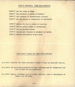 Message from George Marshall and Ernest King to US military personnel returning from war zones, 15 May 1943, page 2 of 2