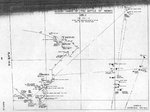 Action chart of Battle of Midway, plate 13-2 of Captain Yasuji Watanabe