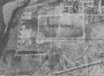 Reconnaissance photograph of the southern area of Heito Airfield, Heito (now Pingdong), Taiwan, 1944