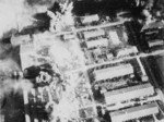 Kagi Airfield under carrier aircraft attack, Taiwan, 12 Oct 1944, photo 3 of 5