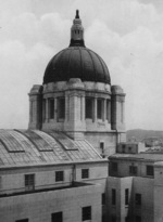 Dome of the General Government Building, Keijo (now Seoul), Korea, 1926