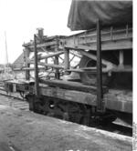 Rail-mounted V-2 rocket, Peenemünde, Germany, 1940s, photo 4 of 4