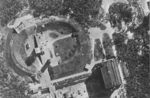 British aerial reconnaissance photo of Test Stand VII, Peenemünde, Germany, 23 Jun 1943
