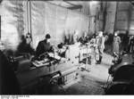 Soviet prisoners of war working at Peenemünde Army Research Center, Germany, 1940s