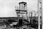 Guard tower at Vorkuta Gulag work camp, Komi Republic, Russia, 1955