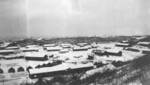 Buildings attached to the Zhijiang Airfield, Hunan Province, China, winter of 1944-1945