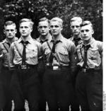 A group of Hitler Youth members, date unknown
