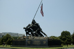 US Marine Corps War Memorial, 18 Jun 2006, photo 1 of 5