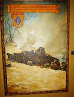 Peleliu artwork on display at the National Museum of the Marine Corps, Quantico, Virginia, United States, 15 Jan 2007