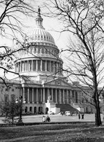 United States Capitol building, 8 Dec 1941