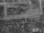 Aerial view of Toshien (now Zuoying) airfield, Takao (now Kaohsiung), Taiwan, 16 Oct 1944, photo 1 of 2; photo taken by a B-29 bomber