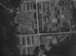 Aerial view of Toshien (now Zuoying) airfield, Takao (now Kaohsiung), Taiwan, 16 Oct 1944, photo 2 of 2; photo taken by a B-29 bomber