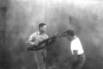 US Marine Corps hand-to-hand combat demonstration, circa 1943, photo 2 of 5
