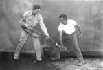 US Marine Corps hand-to-hand combat demonstration, circa 1943, photo 3 of 5