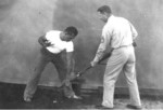 US Marine Corps hand-to-hand combat demonstration, circa 1943, photo 4 of 5