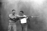 US Marine Corps hand-to-hand combat demonstration, circa 1943, photo 5 of 5