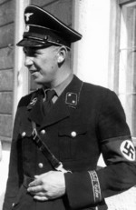 Oberscharführer of the Leibstandarte SS Adolf Hitler at Berghof, Berchtesgaden, Germany, 13 Jun 1937