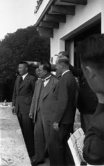 Kong Xiangxi (H. H. Kung) at Berghof, Berchtesgaden, Germany, 13 Jun 1937, photo 1 of 4