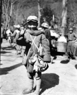 13-year-old Chinese military laborer Chen Youli, Burma, 1944