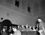 Fifteen Japanese accused of the 18-26 Aug 1945 Lantau Island atrocities on trial, Hong Kong, 28 Mar 1946