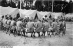 Camp for female members of the Nazi Party, Nürnberg, Germany, late Aug 1939, photo 2 of 2