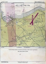 Aviation Approach Chart for Naval Air Station Kahului, Maui, US Territory of Hawaii, dated 1 Jul 1944