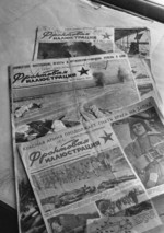 Soviet war-time newspapers, 10 May 1942