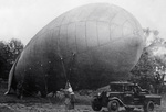 Setting up a barrage balloon near Moscow, Russia, Jun-Jul 1942