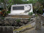 Himeyuri Memorial, Okinawa, Japan, Jan 2009; photo 1 of 3