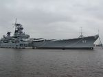 Battleship New Jersey, 14 Jun 2004, photo 1 of 2