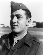 Basilone, recipient of the Medal of Honor, May 1943