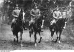 Ludwig Beck on horseback in the Grunewald forest, Berlin, Germany, Jun 1936